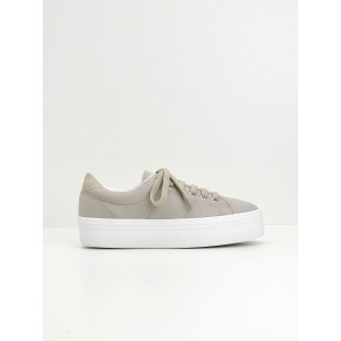 PLATO SNEAKER - CANVAS - BEIGE FOX WHITE