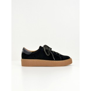 PICADILLY SNEAKER - SUEDE - BLACK SOLE MASTIC
