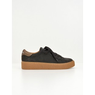PICADILLY SNEAKER - SUEDE - ARDOISE SOLE MASTIC