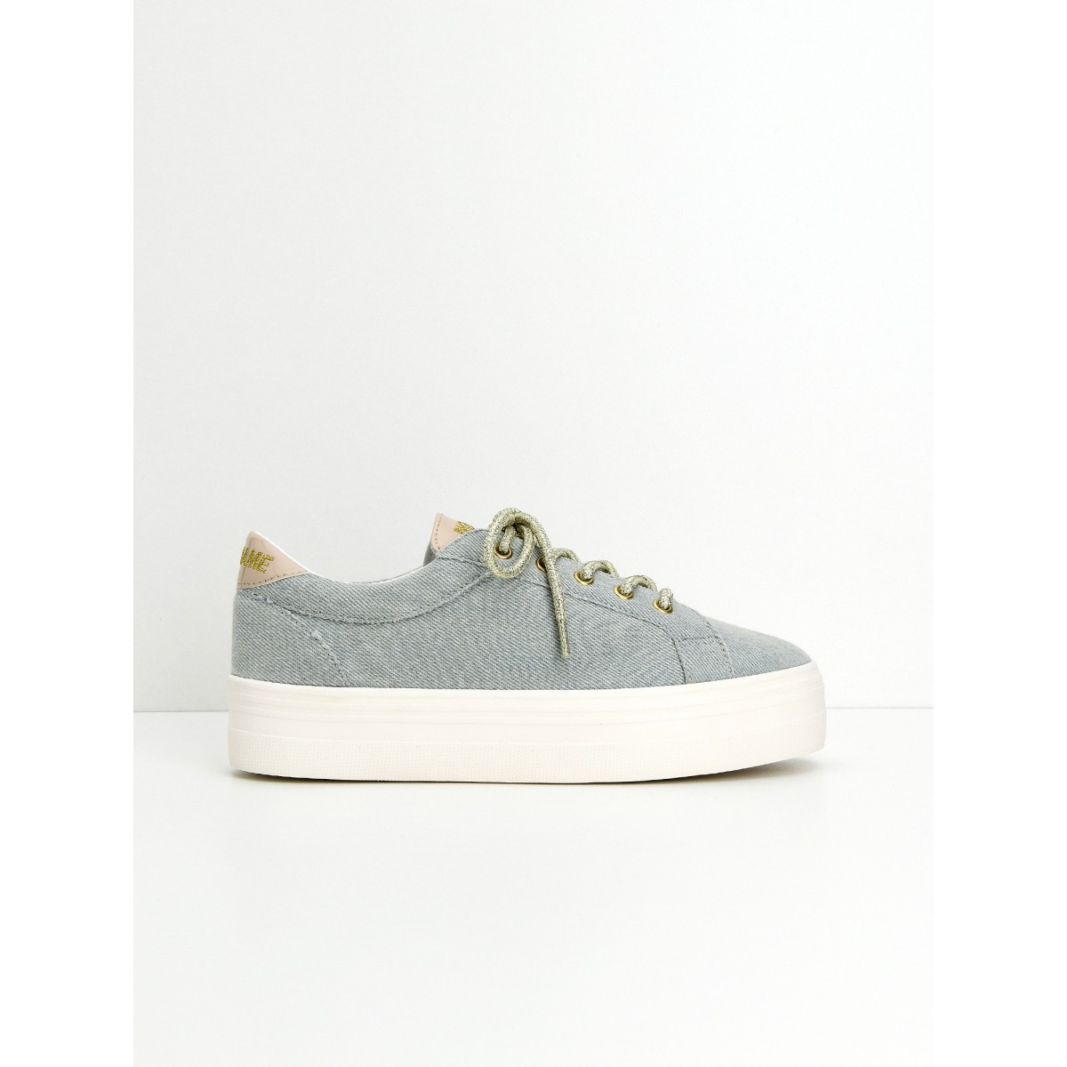 Marques Chaussure femme No Name femme Plato Bridge Denim Bleach