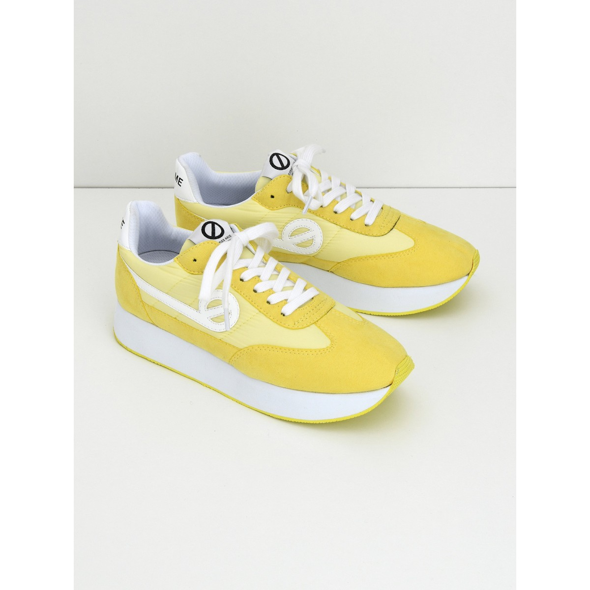 No Name Eden Jogger - Nylon/Split - Lemon/Lemon