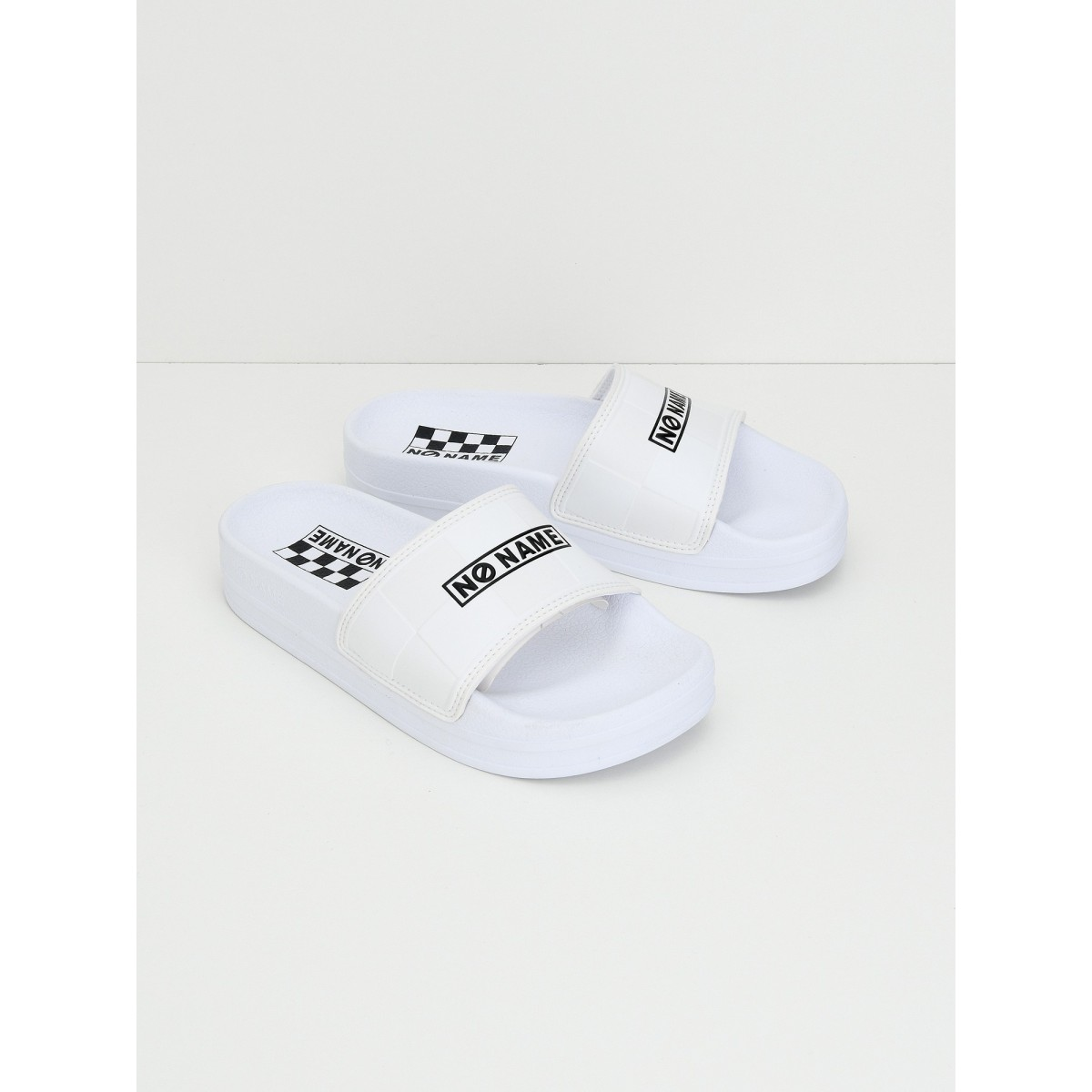 No Name Jungle Slap - Rubber - White/White