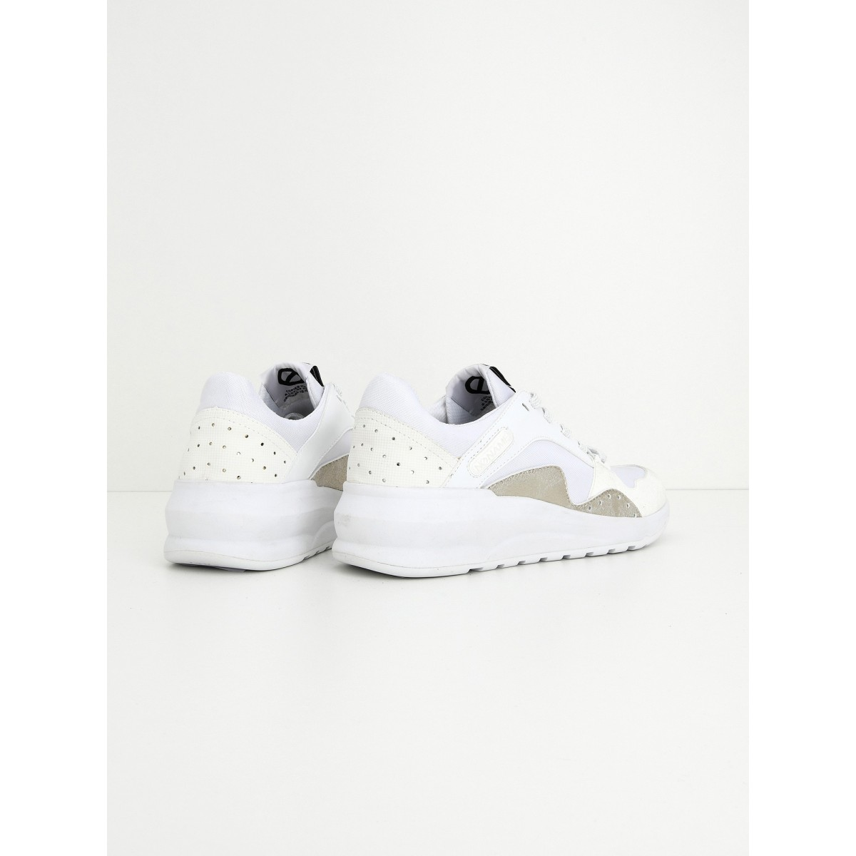 No Name Sono Trainer - Nylon/Split - White/White