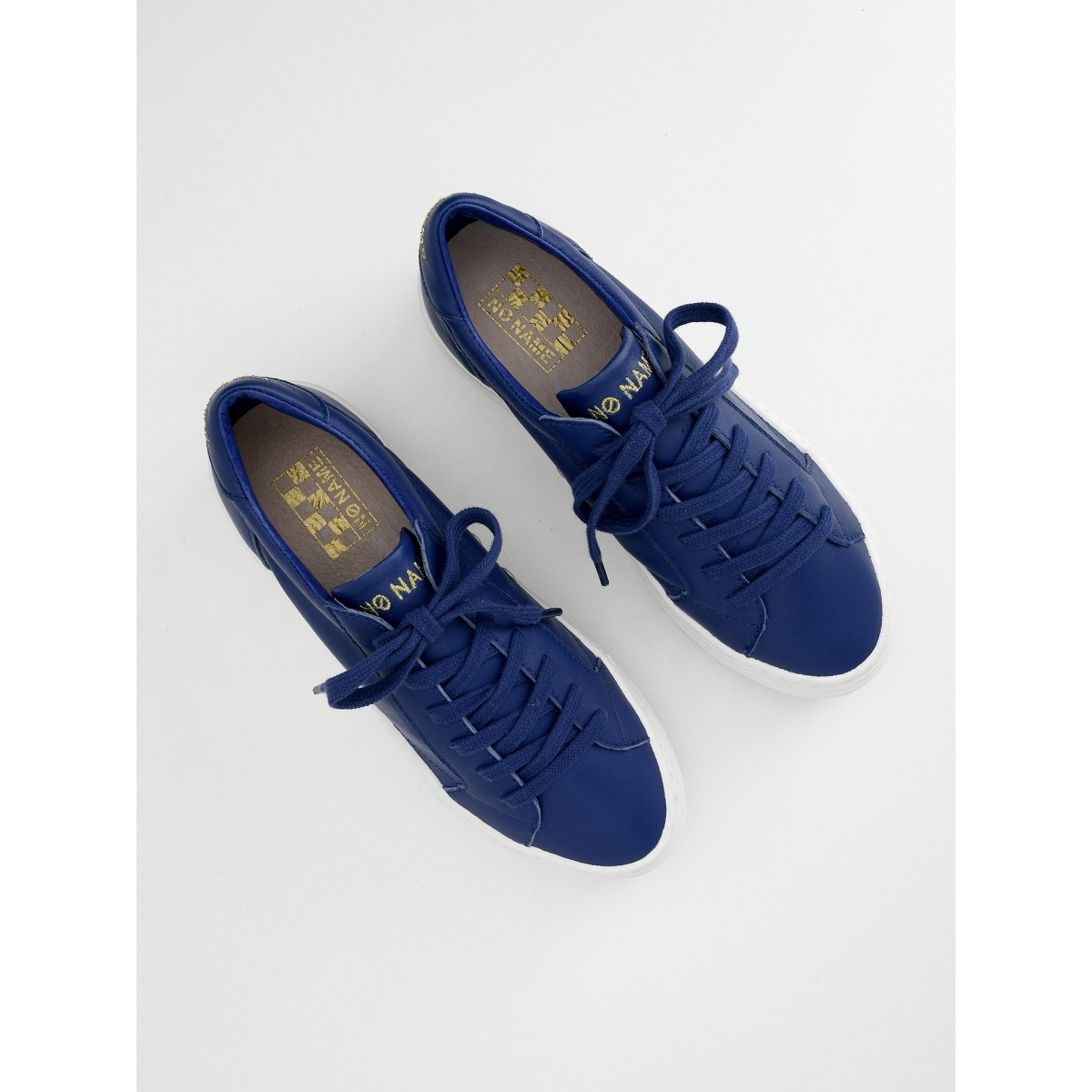 No Name Spice Sneaker - Lambskin - Electric Blue