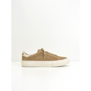 Arcade Sneaker - Punch Goat Suede - Sable