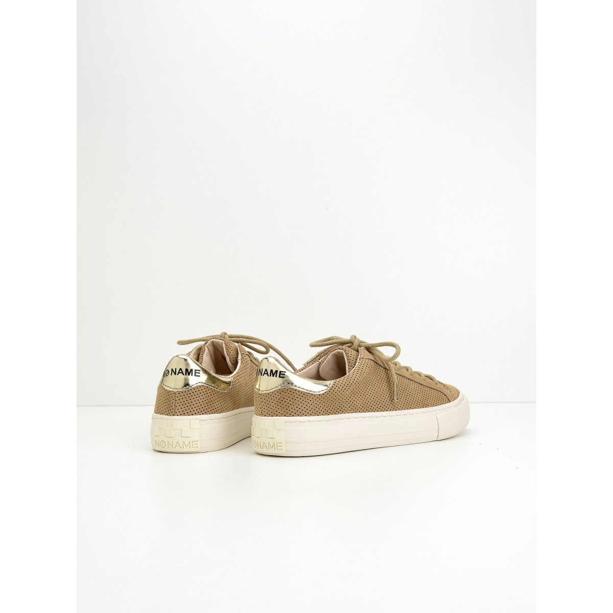No Name Arcade Sneaker - Punch Goat Suede - Sable