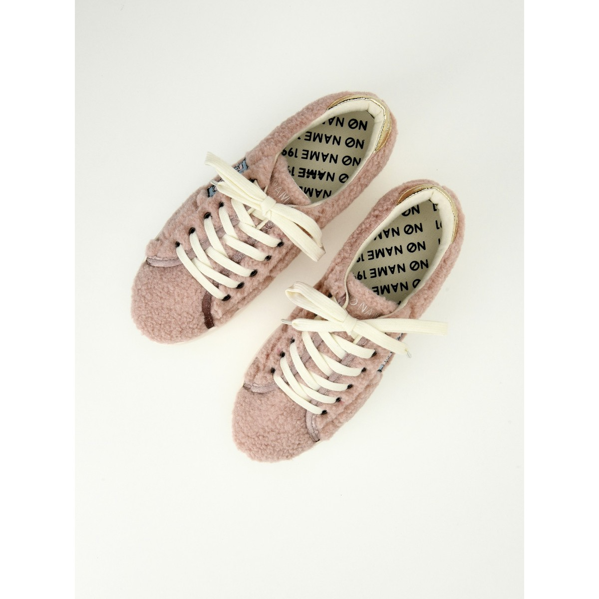 No Name PLATO SNEAKER - SHAUN/PATCH - PINK/BLUE
