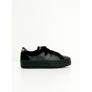 PLATO BRIDGE - ALL STAR/SUEDE - BLACK/BLACK