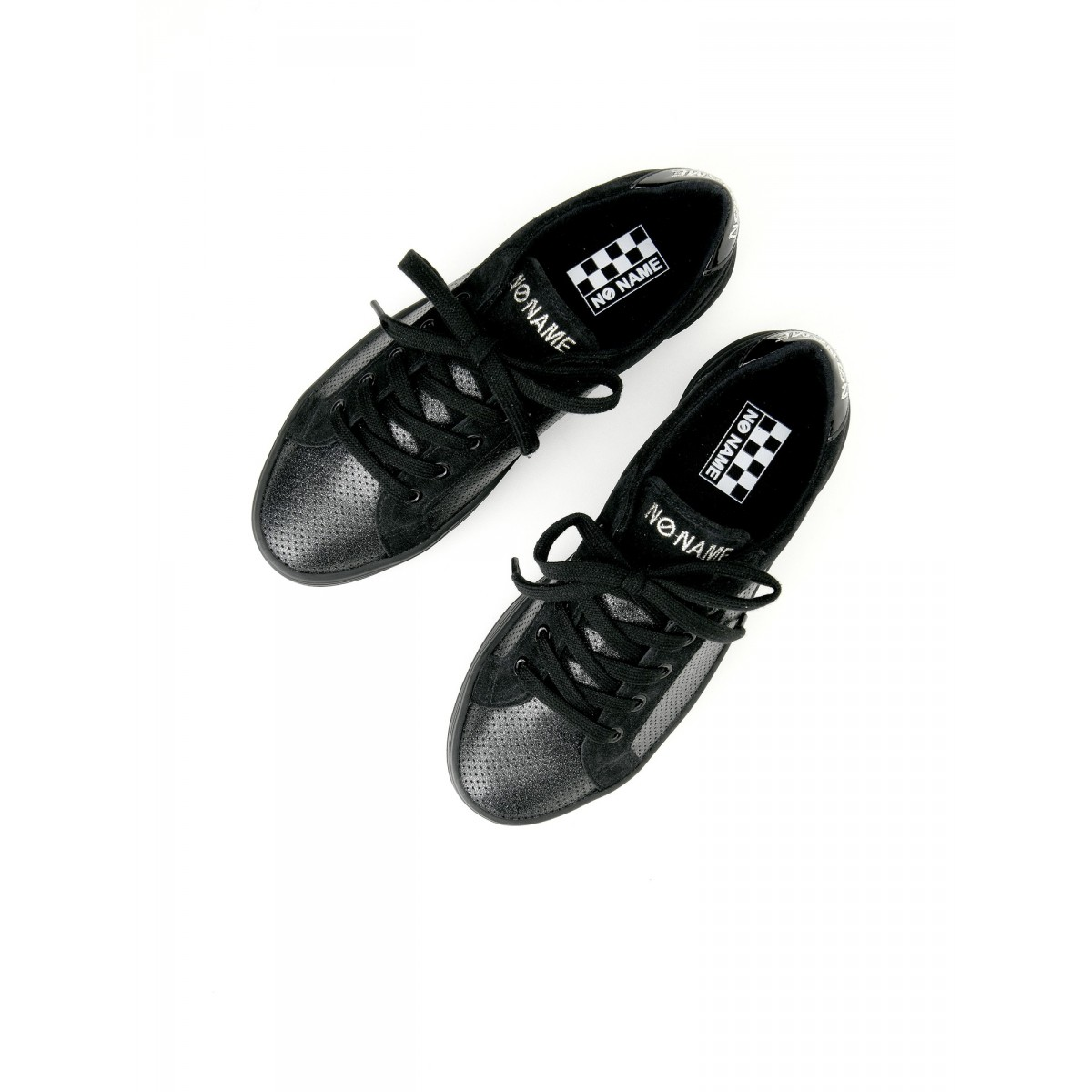 No Name PLATO BRIDGE - ALL STAR/SUEDE - BLACK/BLACK
