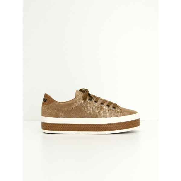 NO NAME MALIBU SNEAKER - RICE - TAN