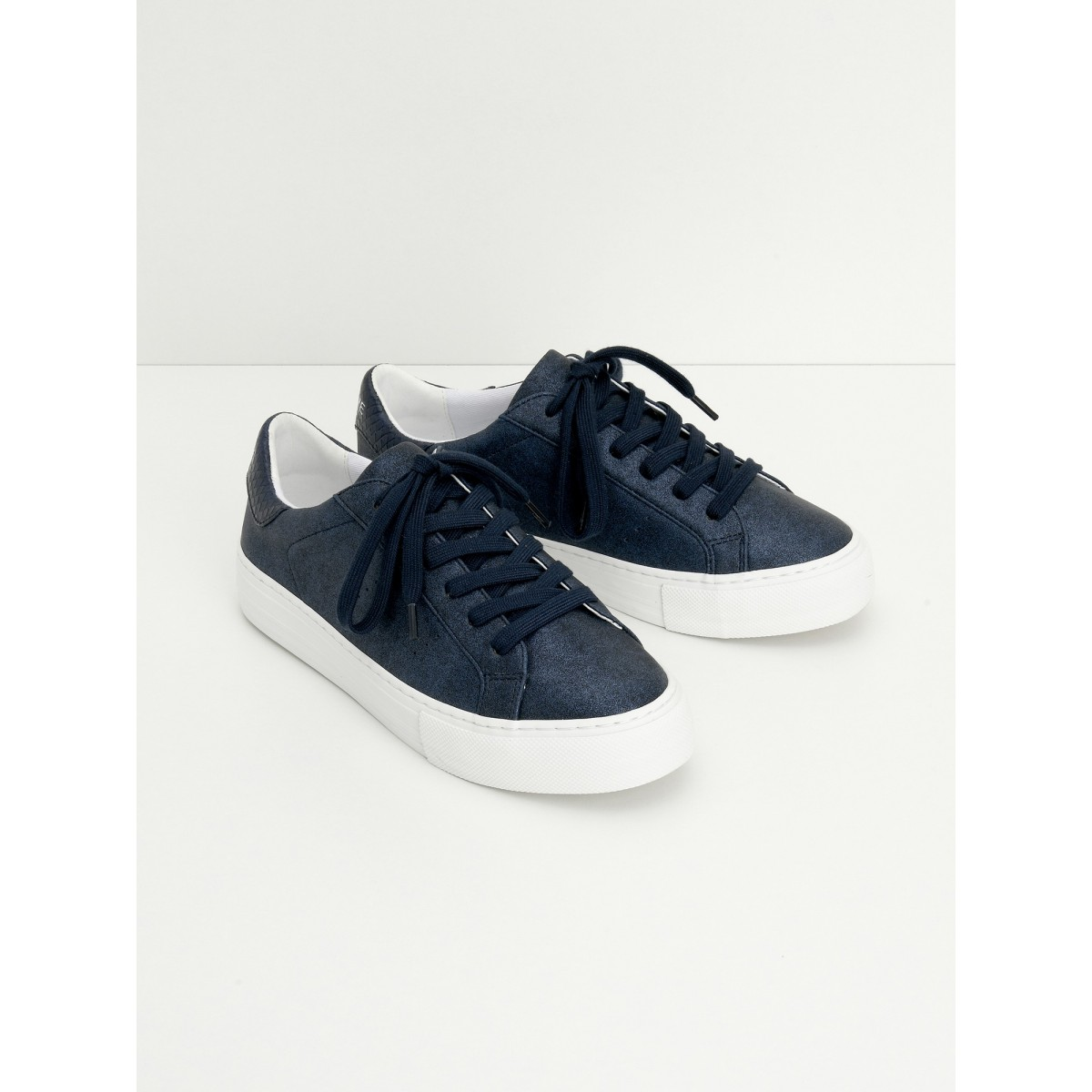 No Name ARCADE SNEAKER - GLOW - NAVY FOX WHITE