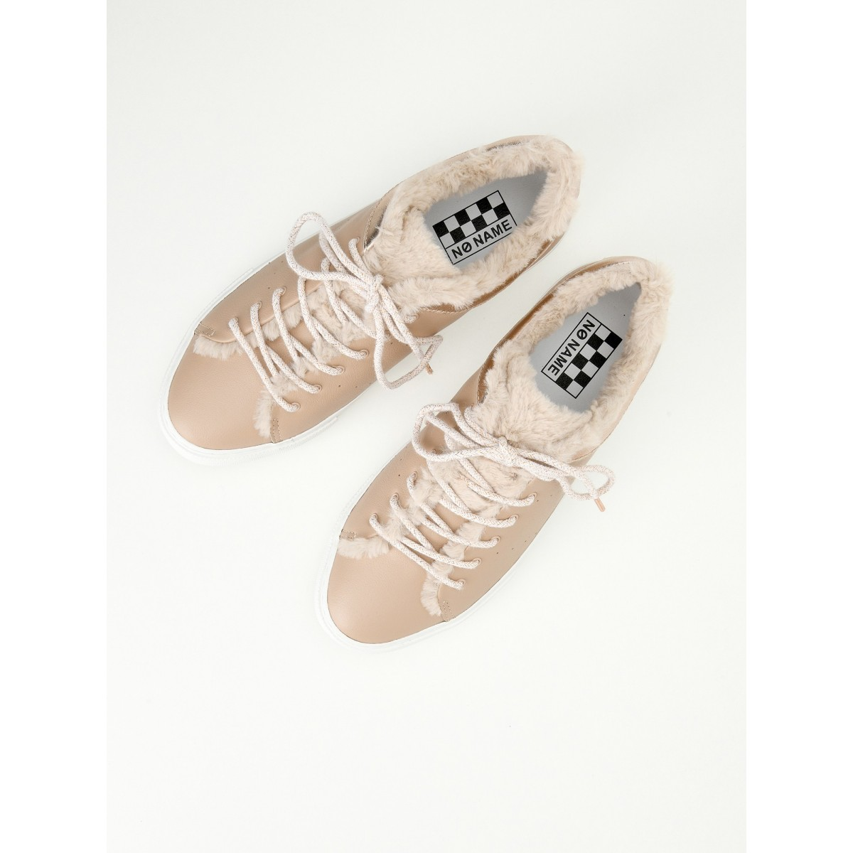 No Name ARCADE FUR SNEAKER - ALTEZZA/MERCURE - NUDE/COPPER