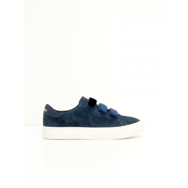 NO NAME ARCADE STRAPS - G.SUEDE/PODIUM - NAVY/BLUE