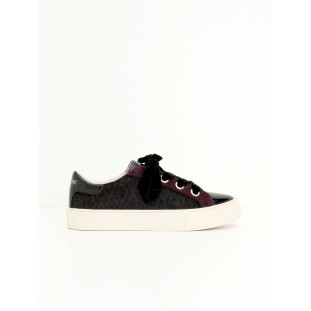 ARCADE NEXT - PATENT/ZOO - BLACK/BURGUNDY