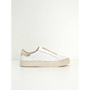 ARCADE BAND - SOFTNAPPA/STUDS - WHITE