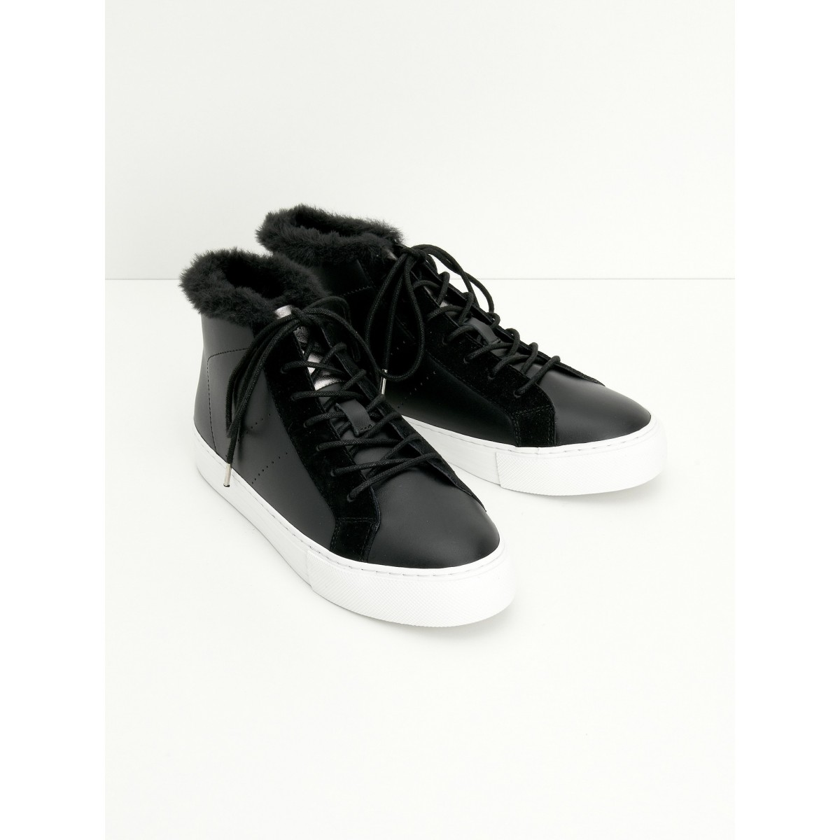 No Name ARCADE MID FUR - ALTEZZA/FUR - BLACK/BLACK