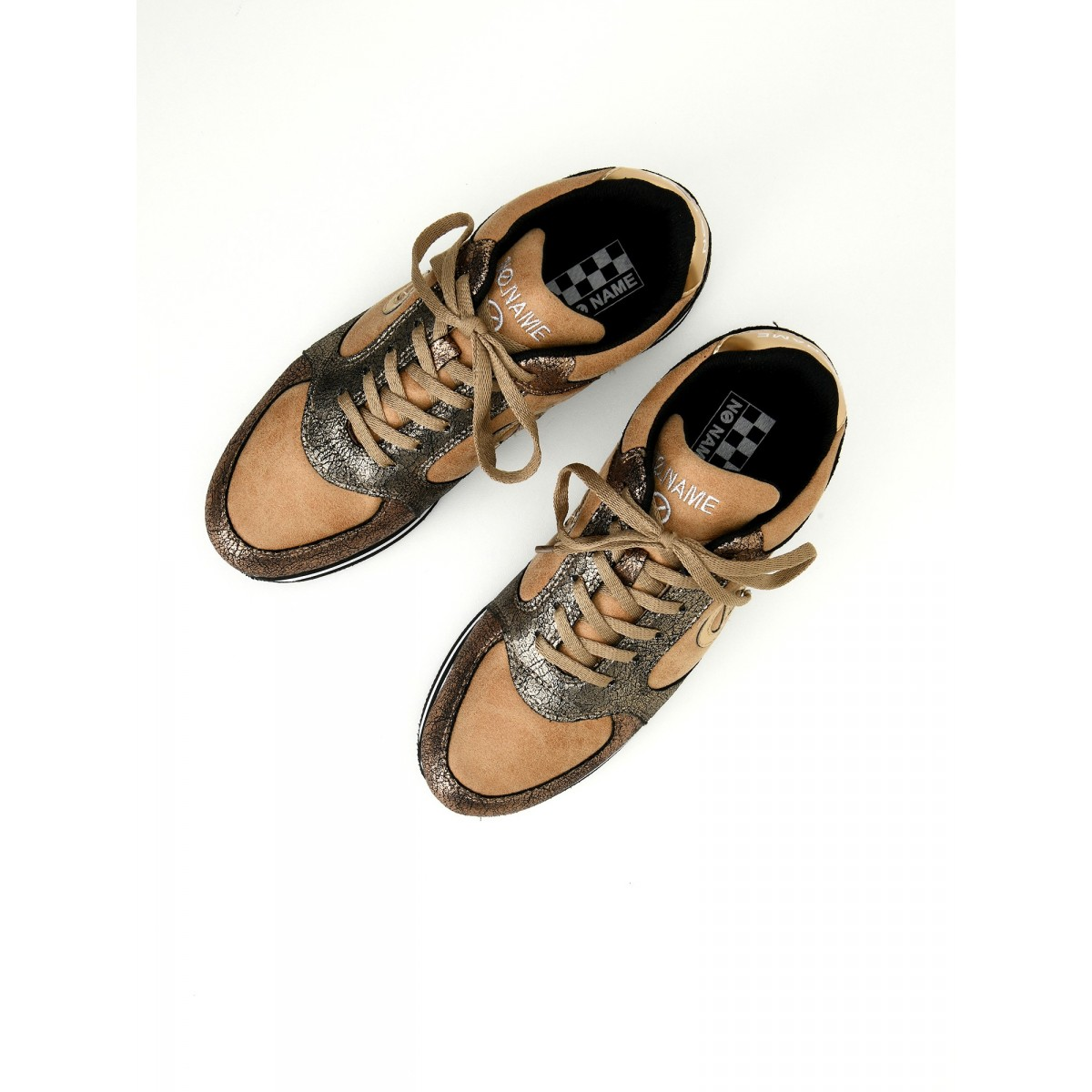 No Name PARKO JOGGER - MALT/CREAKY - SABLE/BRONZE