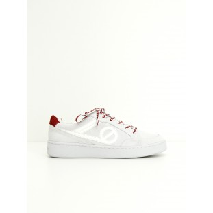 GAME BASKET - SUEDE/PARADISIO - WHITE/RED