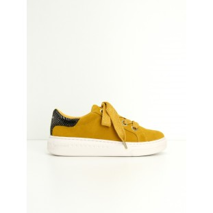 SISTA SNEAKER - SUEDE - HONEY