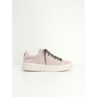 GINGER SNEAKER - SUEDE - POUDRE SOLE WHITE
