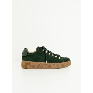 GINGER SNEAKER - SUEDE - CEDRE SOLE MASTIC