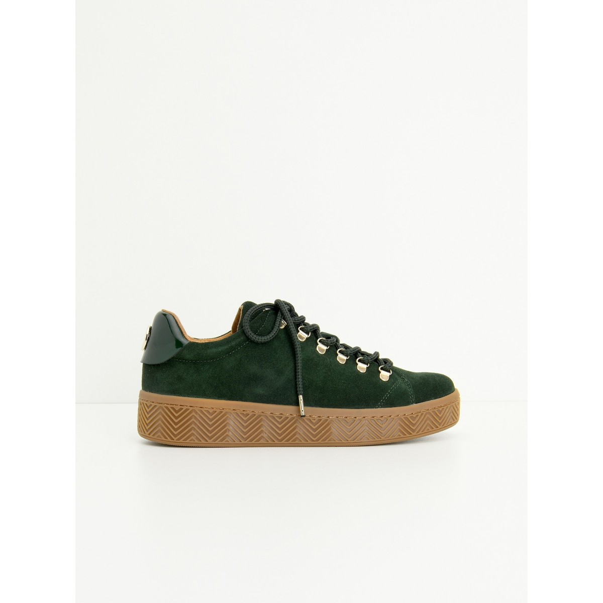 No Name GINGER SNEAKER - SUEDE - CEDRE SOLE MASTIC