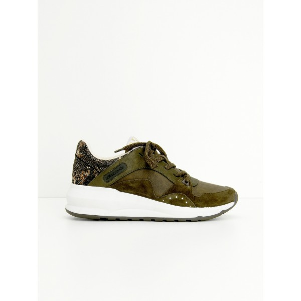 NO NAME SONO TRAINER - G.SUEDE/PURSE - FOREST/FOREST