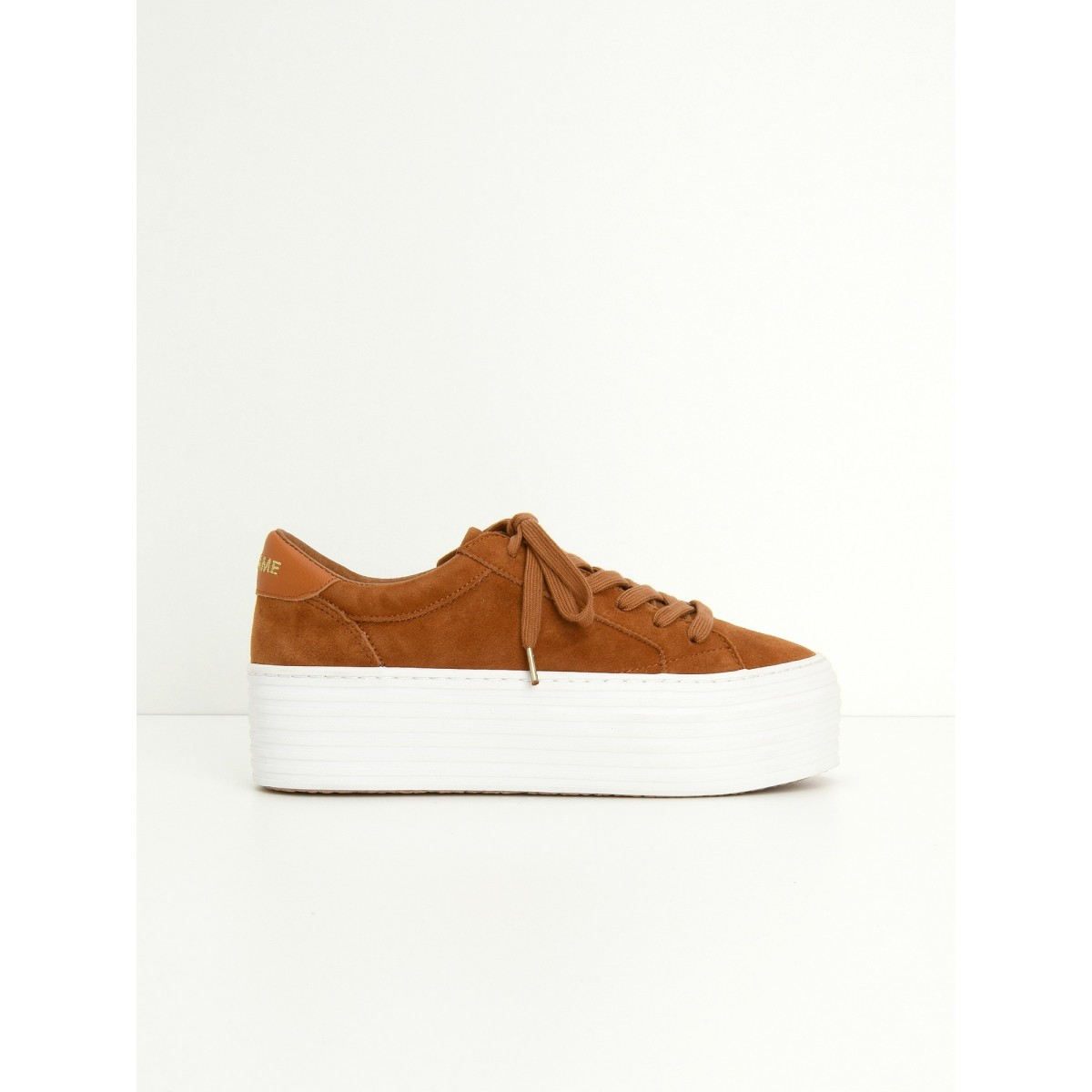No Name SPICE SNEAKER - GOAT SUEDE - PUMPKIN