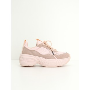 NITRO JOGGER - NYLON/SUEDE - PINK/PINK
