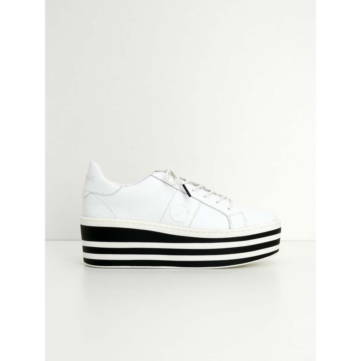 No Name BOOST SNEAKER - SOFT NAPPA - WHITE