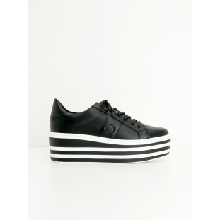 BOOST SNEAKER - SOFT NAPPA - BLACK