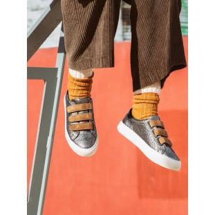 Arcade Straps - Circus/G.Suede - Gold/Tabacco