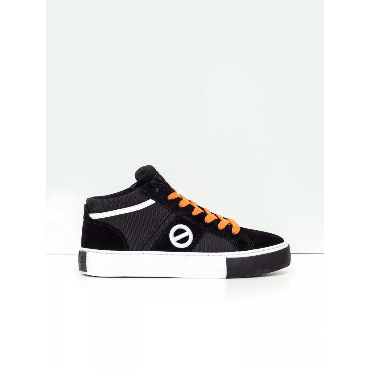 No Name Arcade Basket - Suede/Nylon - Black/Black