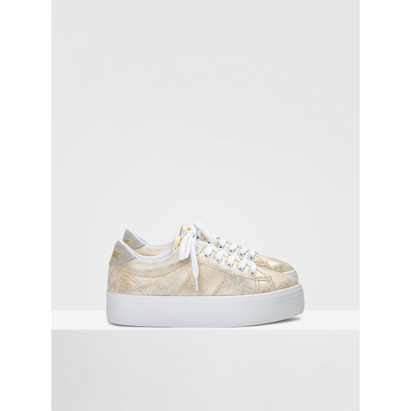 NO NAME PLATO SNEAKER - AFTER - GOLD FOX WHITE