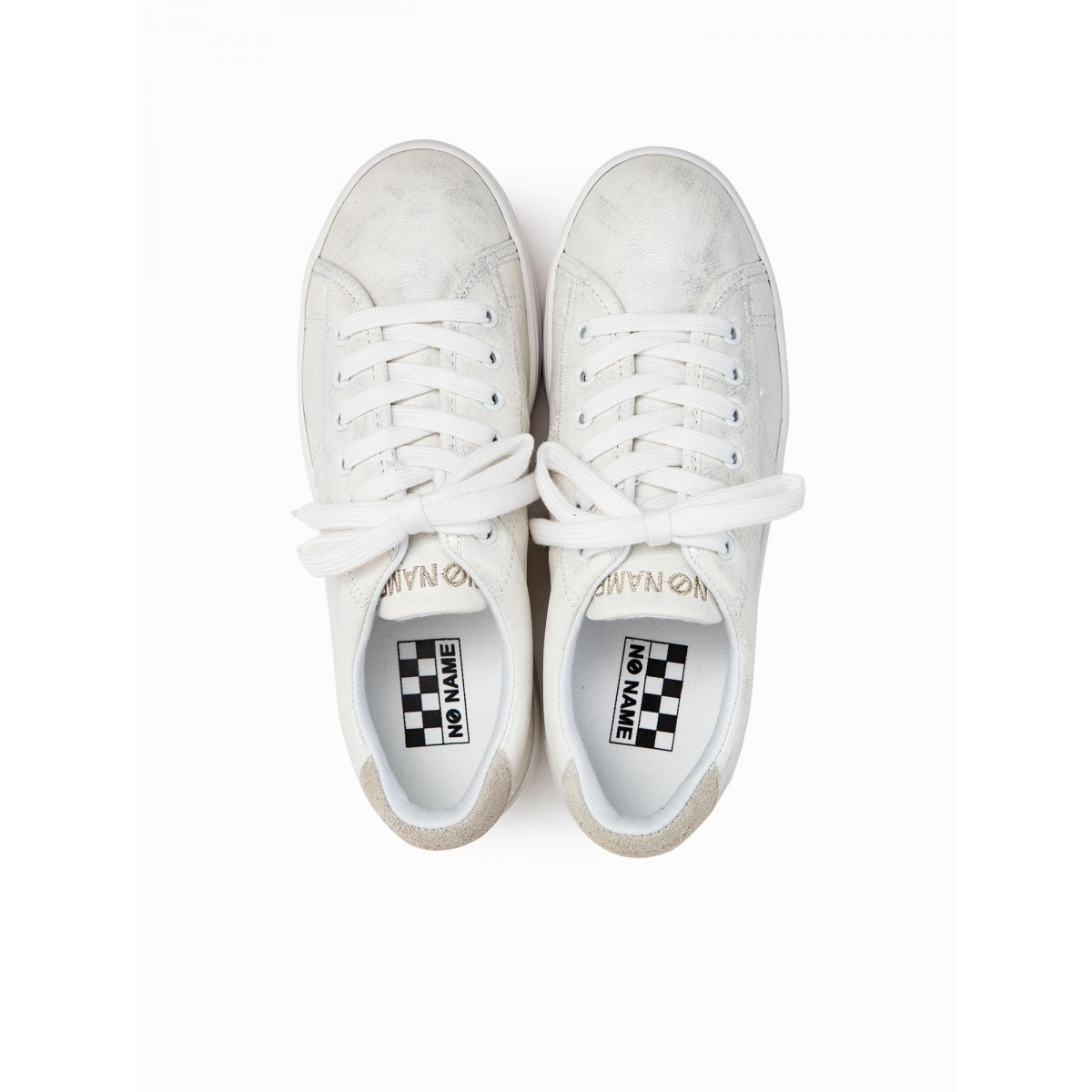 No Name PLATO SNEAKER - AFTER - SILVER FOX WHITE