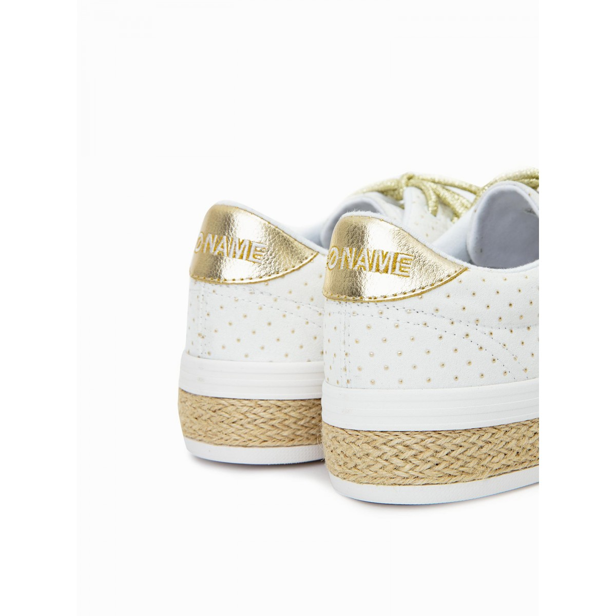No Name MALIBU SNEAKER - TRIP - WHITE