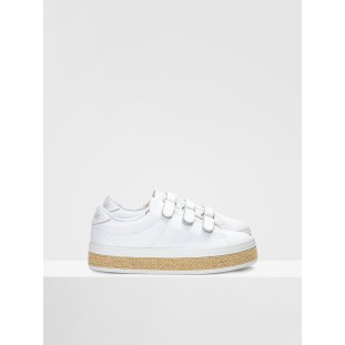 MALIBU STRAPS - CANVAS - WHITE