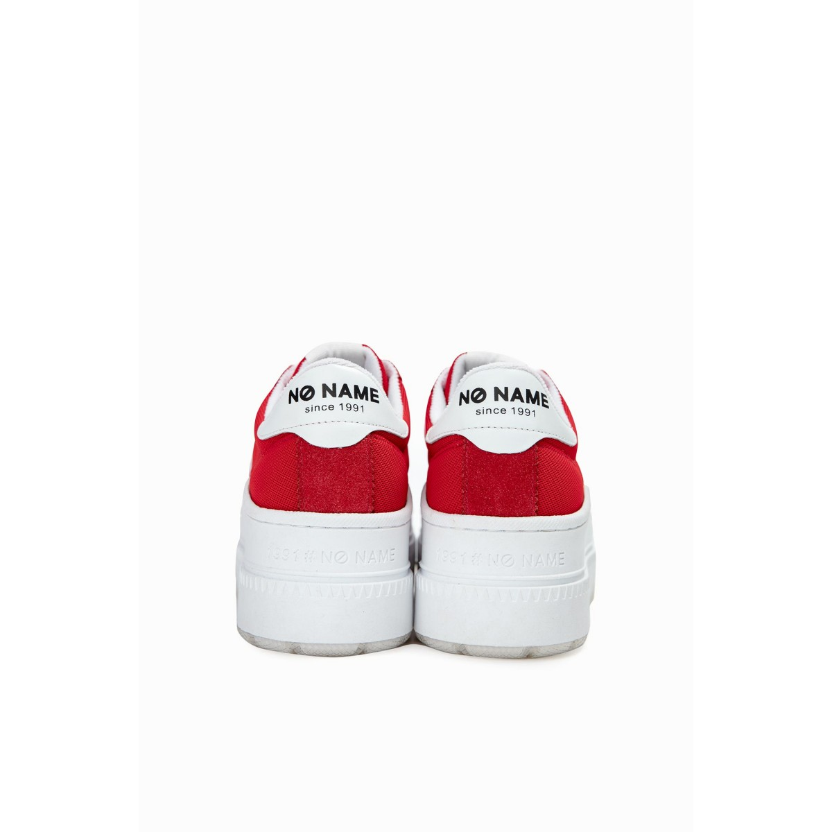 No Name JUMP TENNIS - MESH/SUEDE - RED/RED