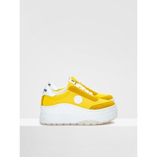 JUMP TENNIS - MESH/SUEDE - YELLOW/YELLOW