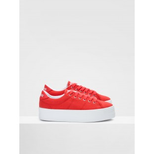 PLATO SNEAKER - CANVAS - CHERRY FOX WHITE