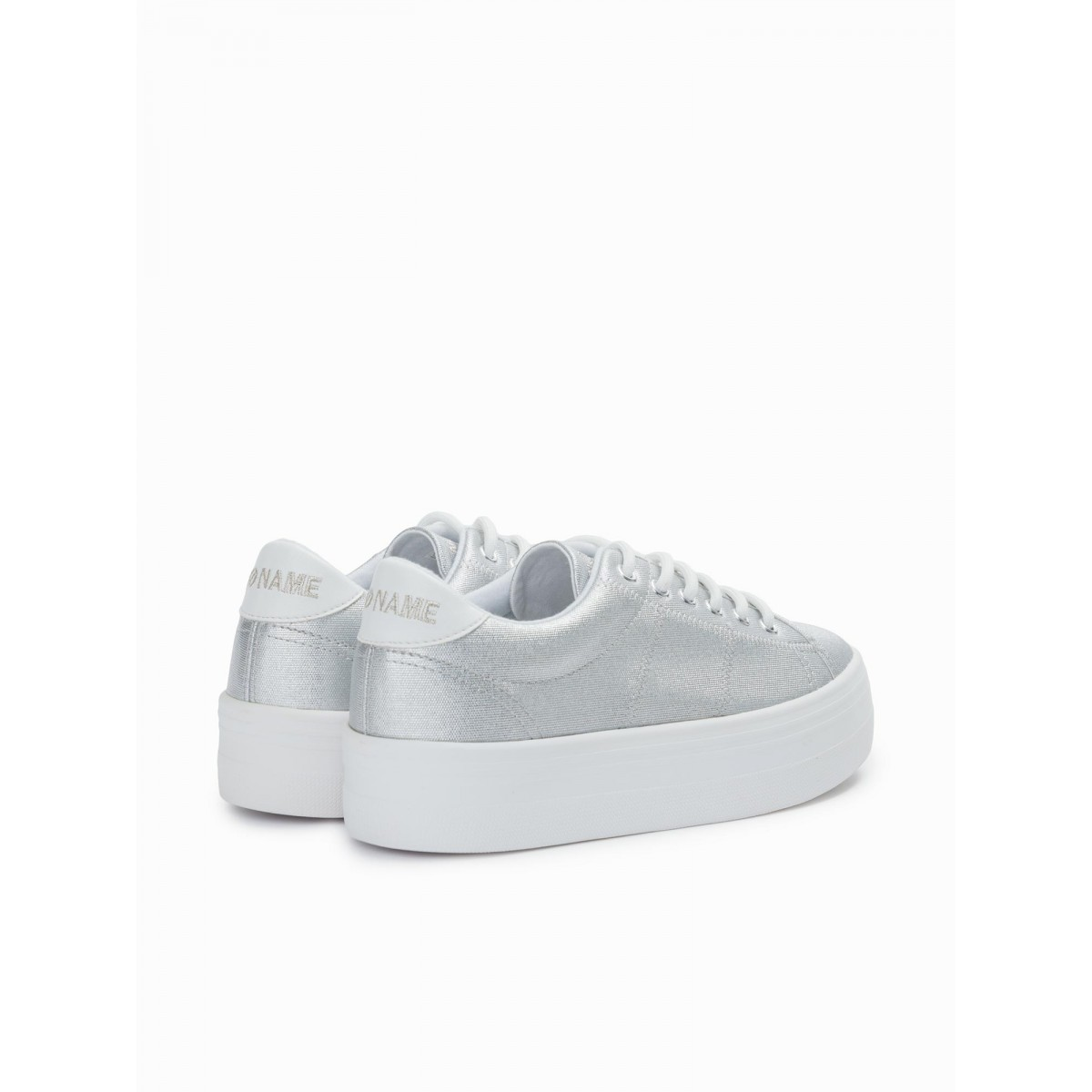 No Name PLATO SNEAKER - URANUS - SILVER FOX WHITE