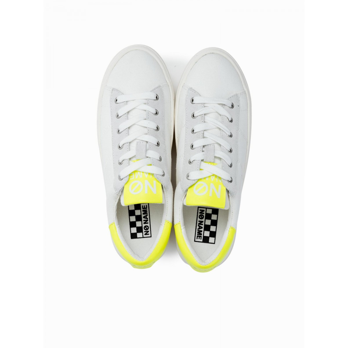 No Name TWIN SNEAKER - BIG CANVAS - OFF WHITE