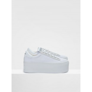 TWIN SNEAKER - BIG CANVAS - WHITE FOX WHITE
