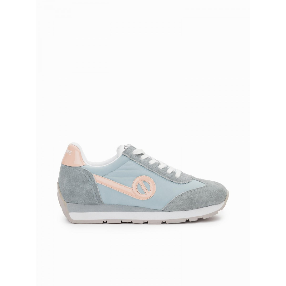 No Name CITY RUN JOGGER - NYLON/SUEDE - AQUA/AQUA
