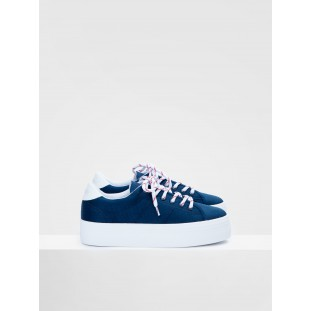 PLATO SNEAKER - BIG NYLON - NAVY FOX WHITE