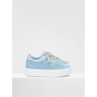 PLATO BRIDGE - DENIM - CELESTE FOX OFFWHITE