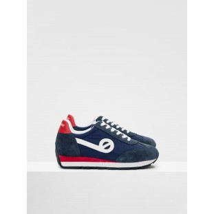 CITY RUN JOGGER - NYLON/SUEDE - NAVY/NAVY
