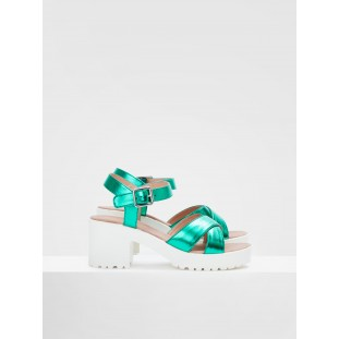 TANGO ANKLE - STELLA - GREEN SOLE WHITE