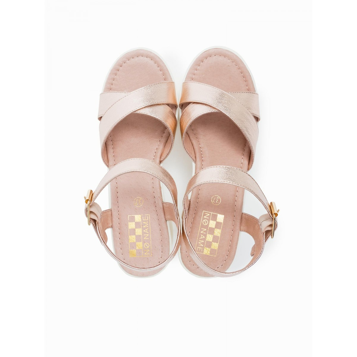 No Name TANGO ANKLE - STELLA - COPPER SOLE WHITE