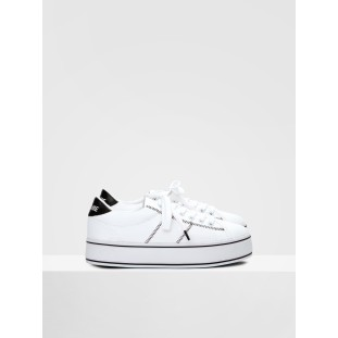 MASTER SNEAKER - CANVAS - WHITE/BLACK